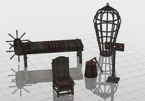Torture Set DOWNLOAD by Reseliee