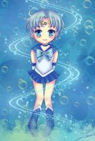 Chibi Sailor Mercury by Nawal