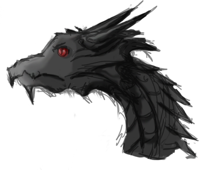 alduin - by TamperedDreams