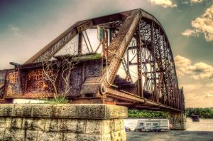North Little ROck Bridge HDR by joelht74