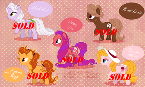 Pony Adoptables - Closed - by selinmarsou