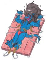 Amru Tickle Torture: On the Tickle Table by KnightRayjack