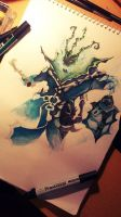 League of legends: Thresh by Kytru