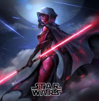151216 StartWars DarthMaul Daughter by JeremyChong