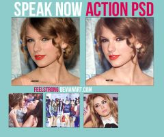 Speak Now Action Psd by FeelStrong