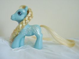 Custom my little pony Elsa Frozen 3 by thebluemaiden