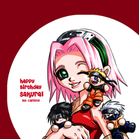 Happy Birthday Sakura :D by kanmi