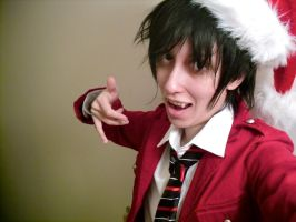 Blue Exorcist: Christmas by blondewolf2