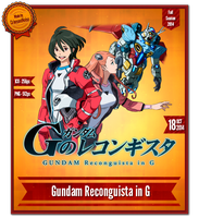 Gundam Reconguista in G - Anime Icon by CrimsonNoise