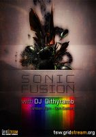 Sonic Fusion - Show Poster by Lykeios-UK
