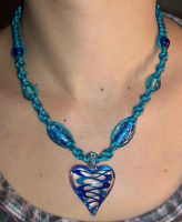 Blue Heart of Glass Hemp by Psy-Sub