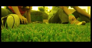 Green Green Grass by Chexee
