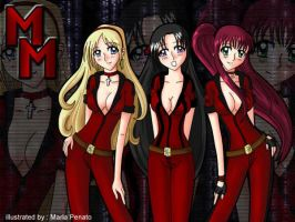 Miyomoto Girls by Excel XP by chris-ticehurst