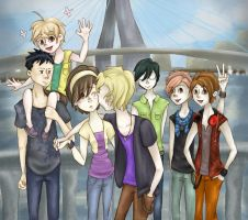 .The Ouran Host Club. by bekahrekah