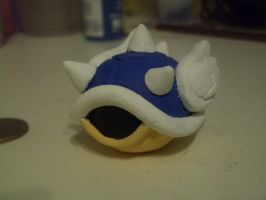 Clay Blue Turtle Shell by Robisaur