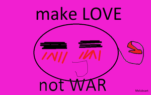 Hetalia Spirit! Make Love! Not war! by melubsart