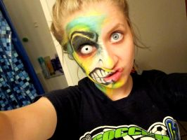 Mosterish facepaint? by KyleeGreider