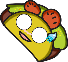 Timmy The Taco by water16dragon