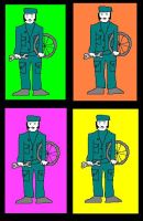 Bicycle Repair Men by tomatorama