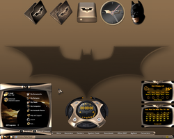 Batman Begins Desktop III by a666a
