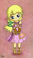 Skyward Sword Sara by Jrynkows