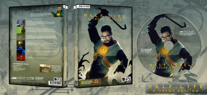 Half-Life Dvd... by archnophobia