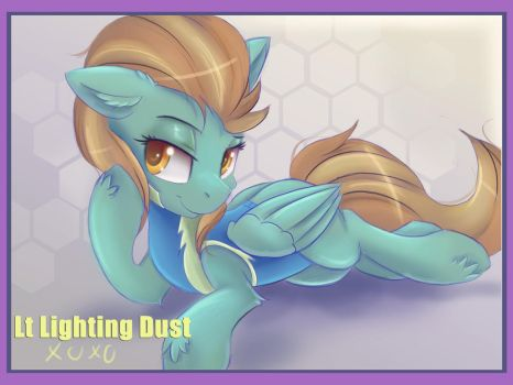 Lighting Dust Pin Up by Ardail