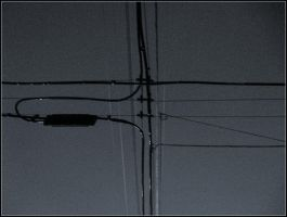intersecting power lines by crimsonravenwarrior