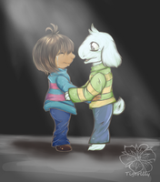 Undertale I don't want you to be...alone. by tigersylveon