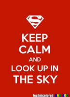 Keep Calm Superman by jokerjester-campos