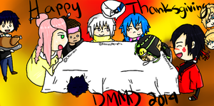 DMMD: Happy Thanksgiving 2014 by Moonlit-Supernova