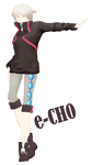 [MMD] e-CH0 + dl by ColorsOfOrion