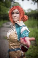 Triss- The Wild Hunt by FlaminGay