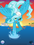 MLP SketchVector: SeaBronies' Sea Sailor Mascot by mewtwo-EX