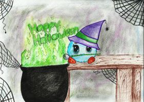 Happy HalloWitch by KateIrieChan