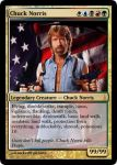 Chuck Norris Magic card by rockvillepictures