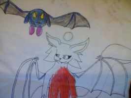 Medusa and Meta knight by Me-MowTheCat