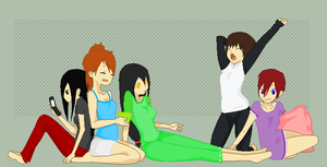 Sleep Over! by Undeadhatred