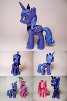 Princess Luna G4 Custom by Oak23