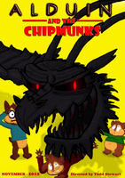Alduin and the Chipmunks by BowserJrDude