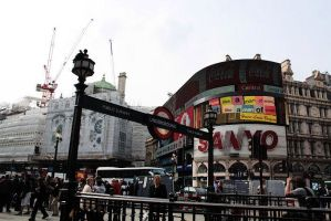 Piccadilly Circus by Caelai