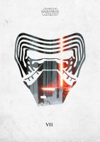 The Force Awakens - Kylo Ren by MauroTch