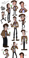 Style challenge  Eleventh Doctor by Fonora
