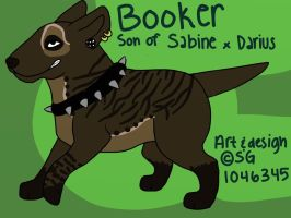 Booker!! by wolfhailstorm