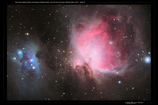 M42, M43 and NGC 1977 - Mk II by octane2