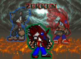 Zekken the fusion entity by Xx-ApocalypseHeartxX