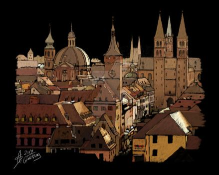 Wuerzburg by LIVEyourDR3AM
