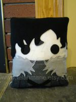 Jon Snow Game of Thrones pillow by Telahmarie
