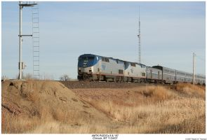 Amtrak P42DCs 8 and 197 by hunter1828