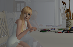 Namine sims 2 picture 1 by X-Tidus-kisses